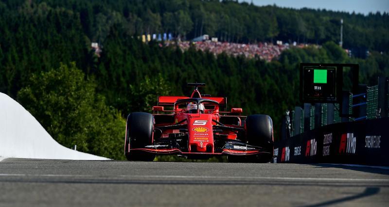 Grand Prix de Belgique de F1 : le départ en vidéo