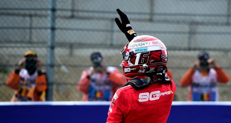 Grand Prix de Belgique de F1 : victoire de Leclerc devant Hamilton et Bottas, le classement complet