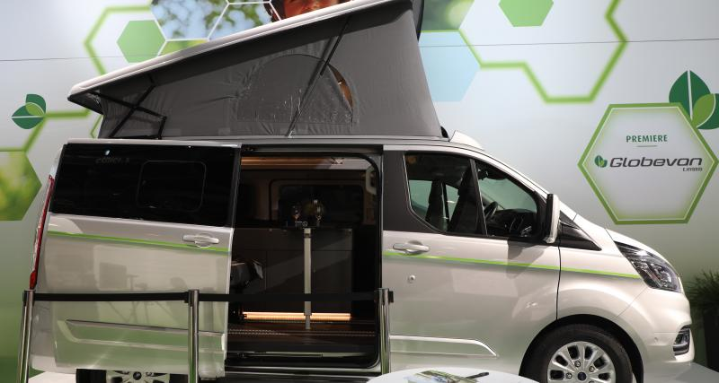 Nos photos du camping-car Dethleffs Globevan e.Hybrid au salon de Düsseldorf