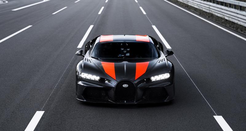 Bugatti Chiron : une version allongée bat un nouveau record de vitesse à presque 500 km/h !