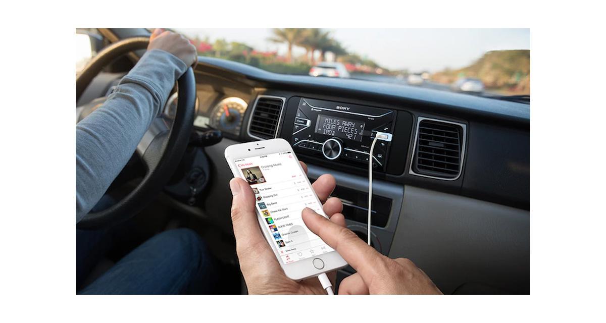 Sony commercialise un nouvel autoradio 2 DIN pour les sources nomades