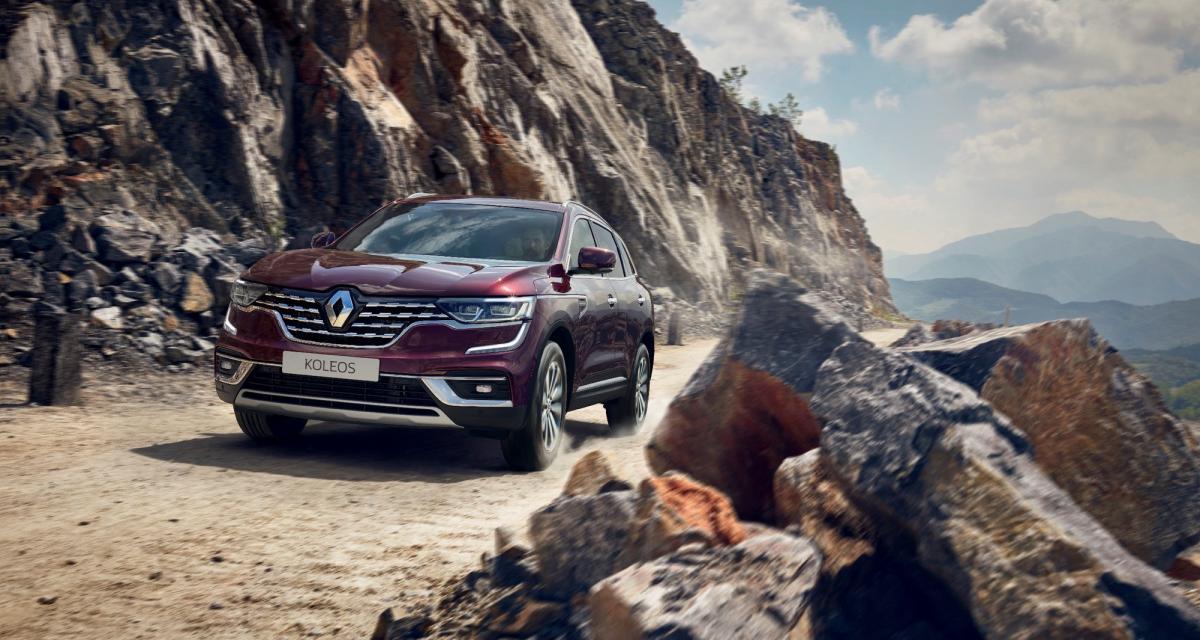 Nouveau Renault Koleos : tous les tarifs pour le marché français