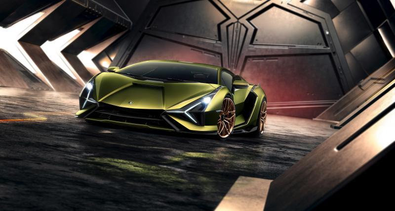 Lamborghini Sián : la plus puissante des Lamborghini est une hybride