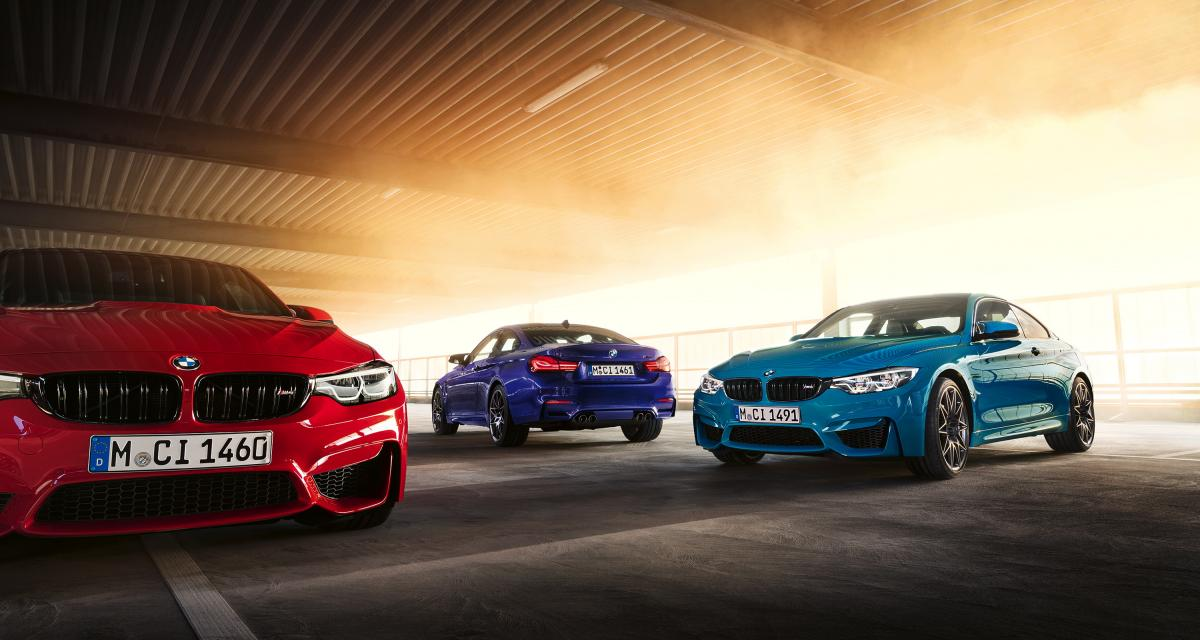 BMW M4 M Edition ///M Heritage : hommage aux couleurs Motorsport