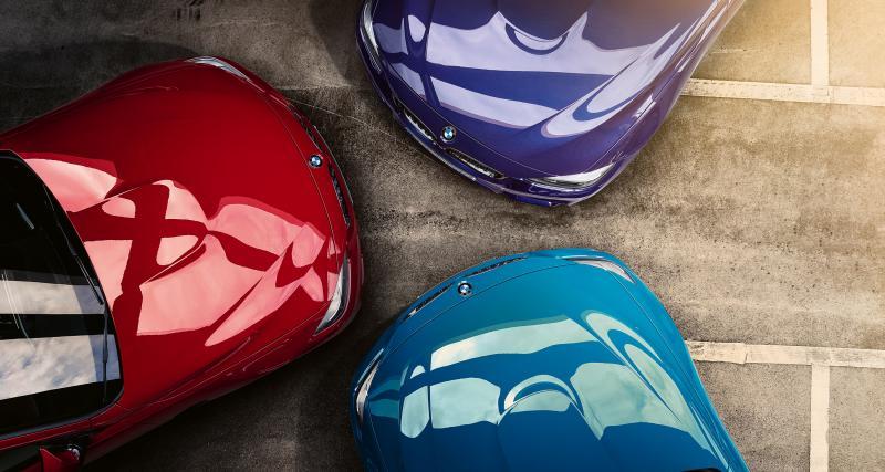 La signification des 3 couleurs BMW Motorsport