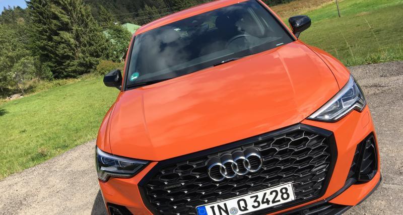 Essai de l'Audi Q3 Sportback : nos photos du SUV Coupé