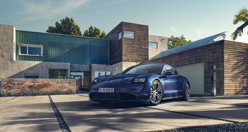 Porsche Taycan (officiel) : toutes les photos de la sportive 4 portes électrique