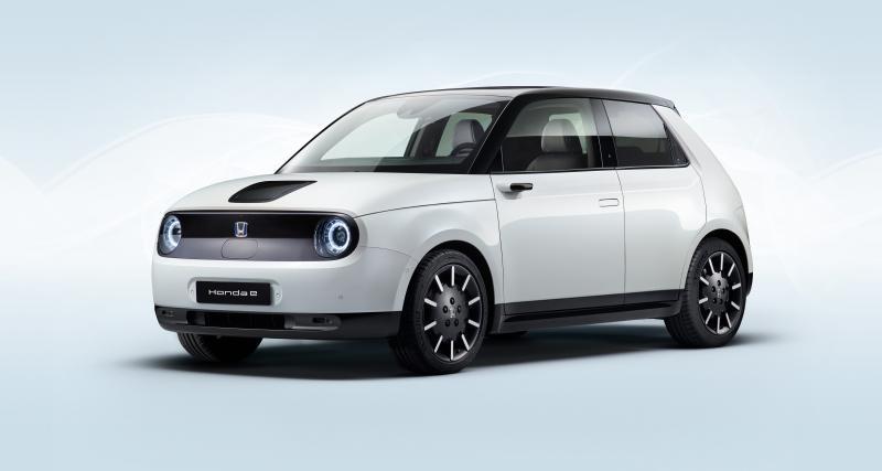 Honda e : la citadine électrique dans sa version définitive