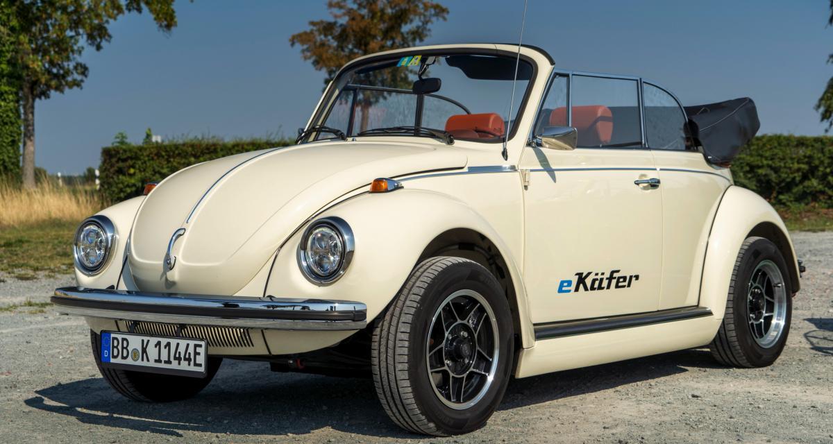 Volkswagen e-Beetle : un cabriolet néo-rétro 100% électrique