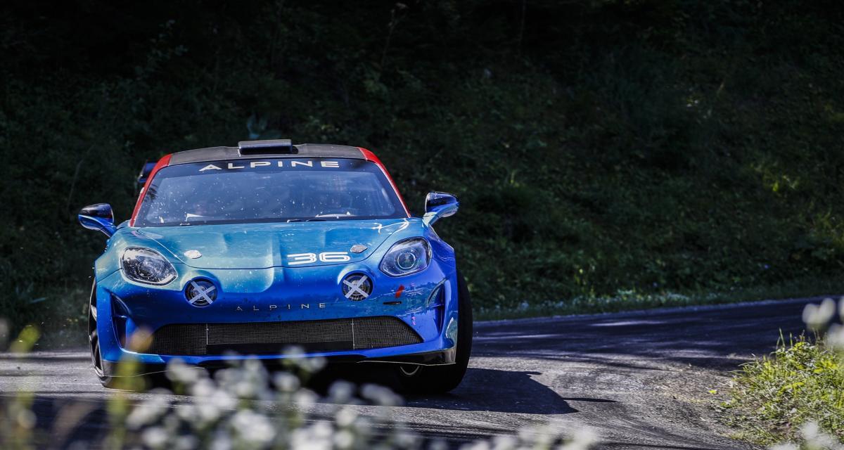 Alpine A110 Rally : 300 chevaux pour le retour d'une légende
