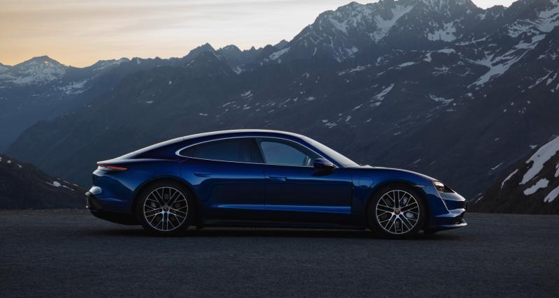 Porsche Taycan : le modèle 100% électrique en 4 points