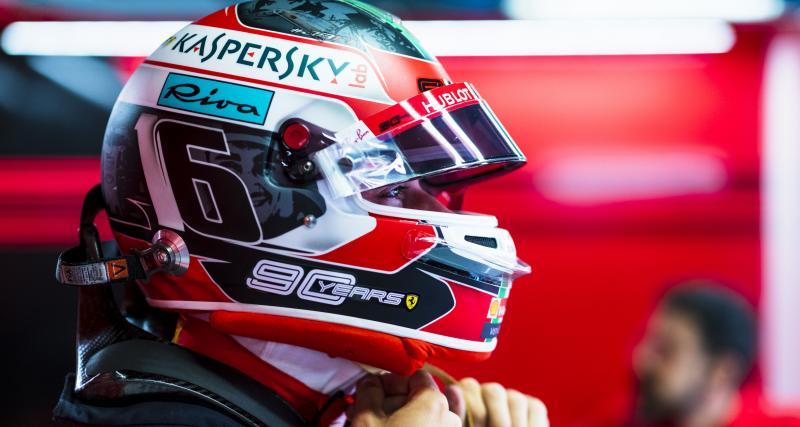 Charles Leclerc en pole à Monza, la grille de départ du GP d'Italie