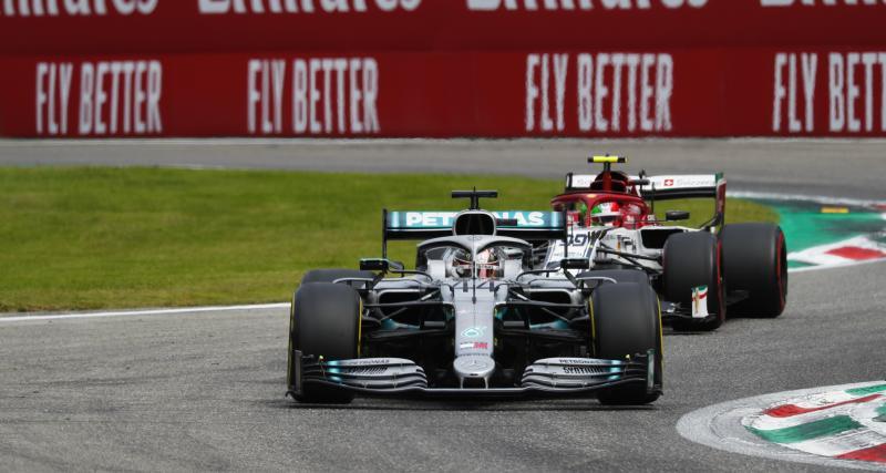 Le Grand Prix d'Italie à la télévision