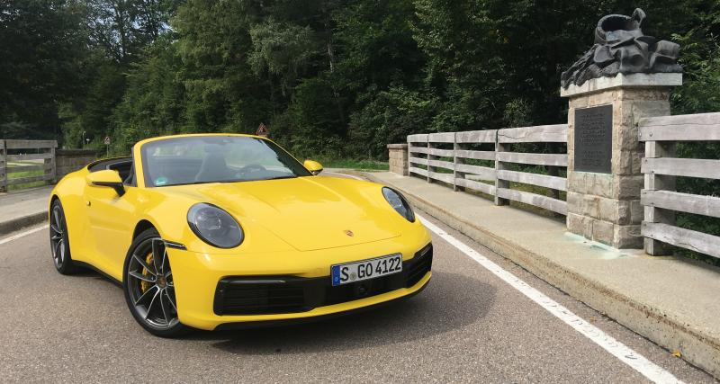 Essai de la Nouvelle Porsche 911 Carrera Cabriolet : pauvre de moi !