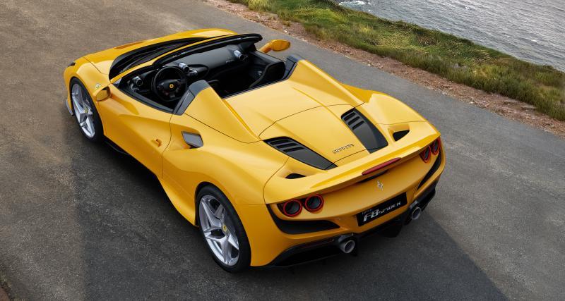 Nouvelle Ferrari F8 Spider : une araignée avec un V8 de 720 chevaux