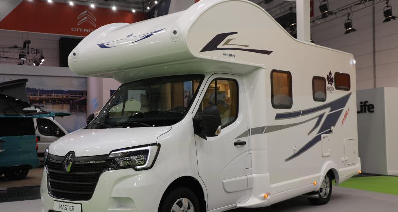 Camping-car Renault Master Ahorn: transporteur pour grands espaces