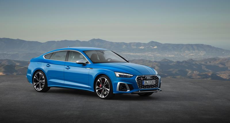 Audi A5 : un restylage léger et une S5 diesel