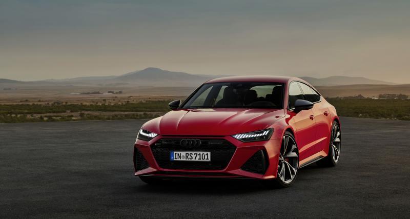 Audi RS7 Sportback : le nouvel avion de chasse de la marque aux anneaux au salon de Francfort