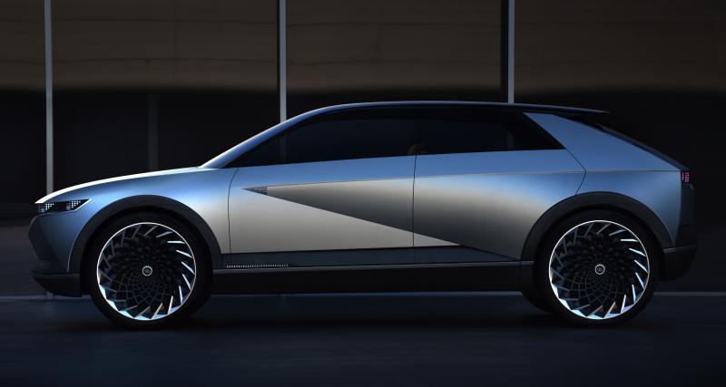 Hyundai 45 EV Concept : un concept Hyundai inspiré au salon de Francfort 2019