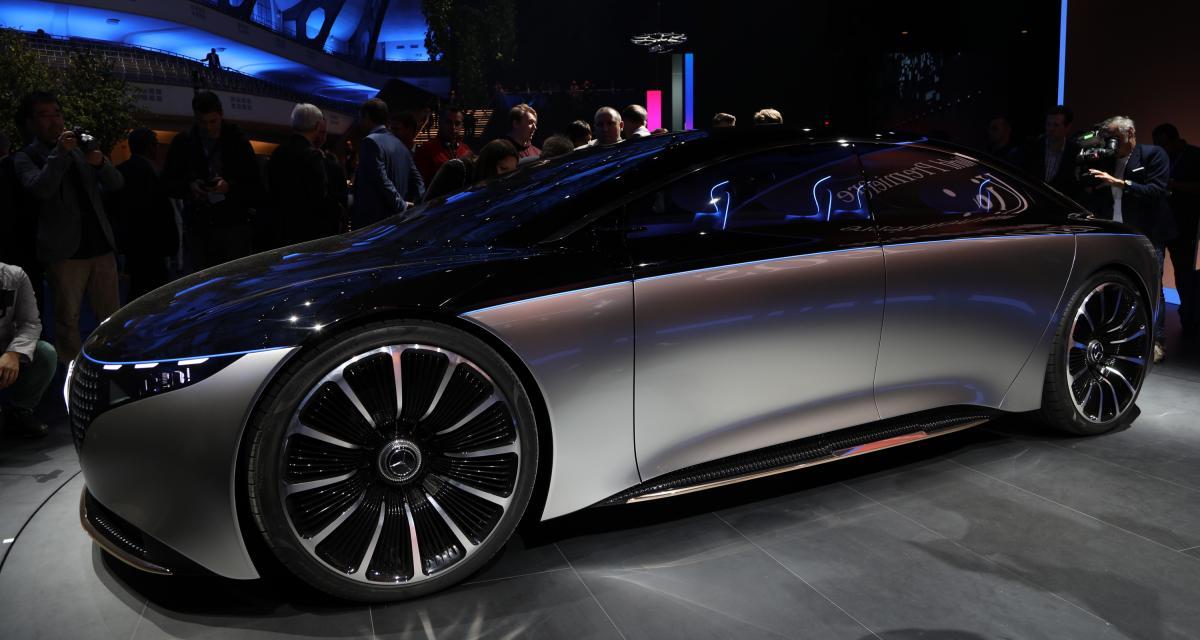 Mercedes EQS Concept : nos photos au Salon de Francfort