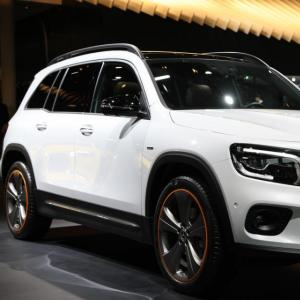 Mercedes GLB : nos photos du SUV compact au Salon de Francfort 2019
