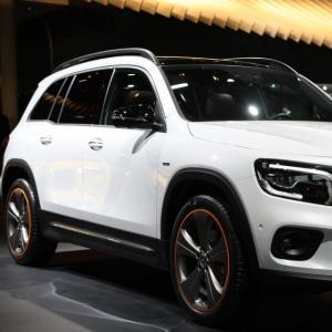 Mercedes GLB : nos photos du SUV compact au Salon de Francfort 2019