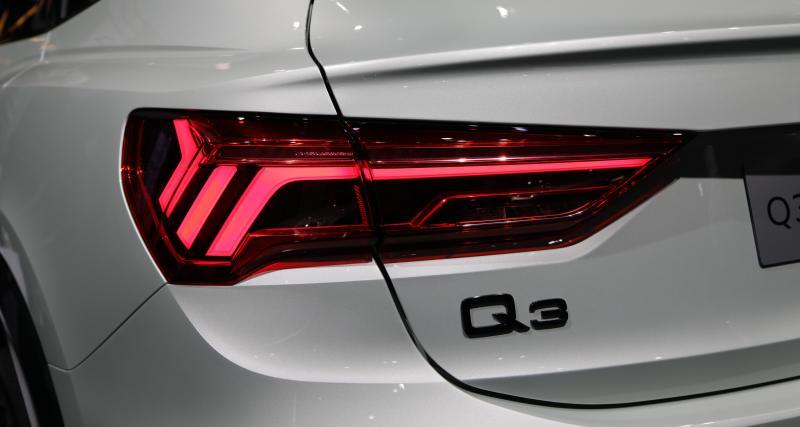 Audi Q3 Sportback : nos photos au salon de Francfort 2019