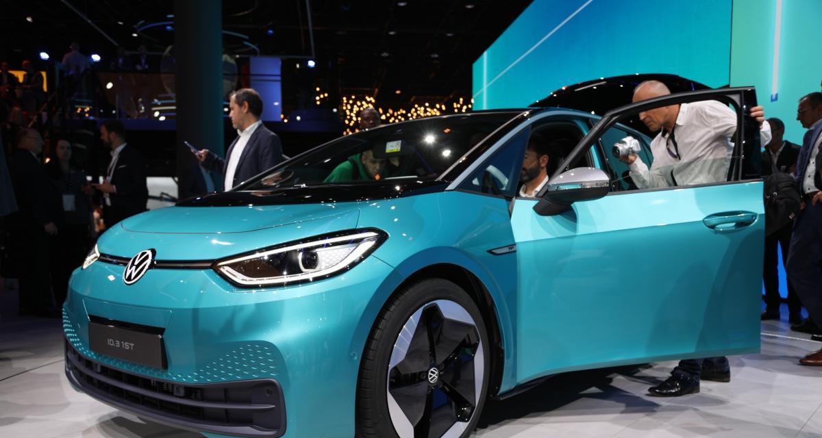 Volkswagen ID.3 : nos photos au Salon de Francfort 2019