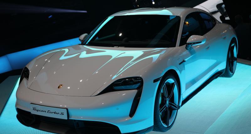 Nouvelle Porsche Taycan : nos photos au salon de Francfort 2019