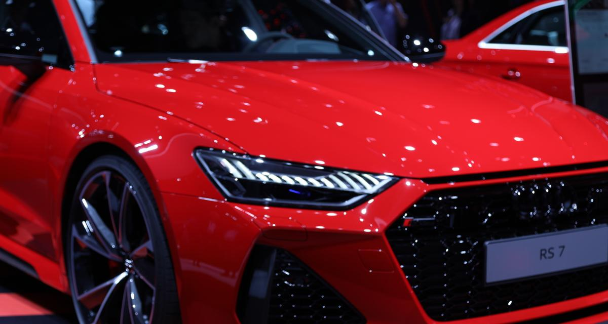 Audi RS7 Sportback: toutes nos photos au Salon de Francfort