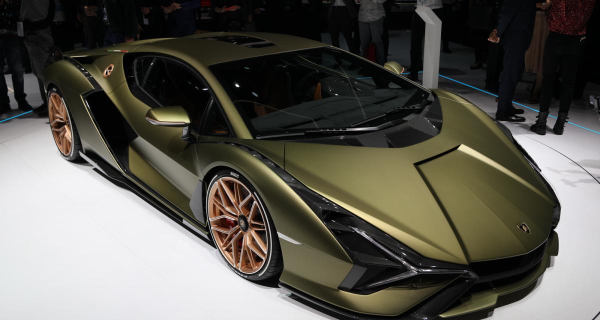 Lamborghini Sián : nos photos et notre vidéo de la supercar au salon de Francfort