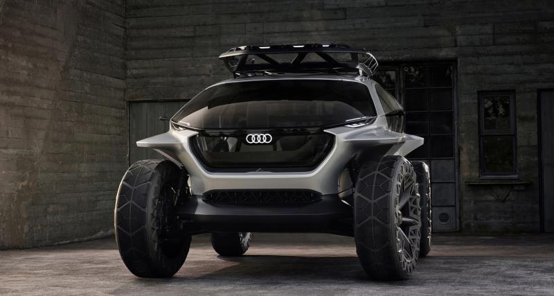 Audi AI:Trail Quattro : objectif Lune, les photos du concept à Francfort