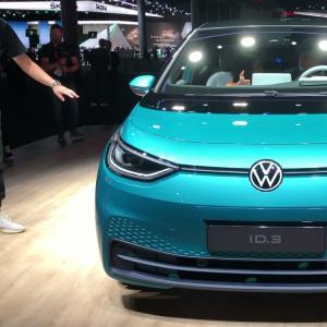 Volkswagen ID.3 : la première compacte électrique de VW sous tous les angles