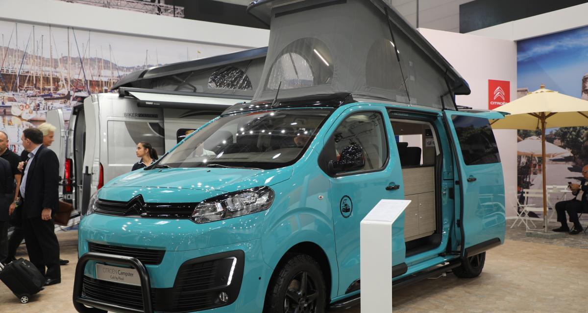 Camping-car Citroën Campster Cult Pössl : le van tuné et aménagé