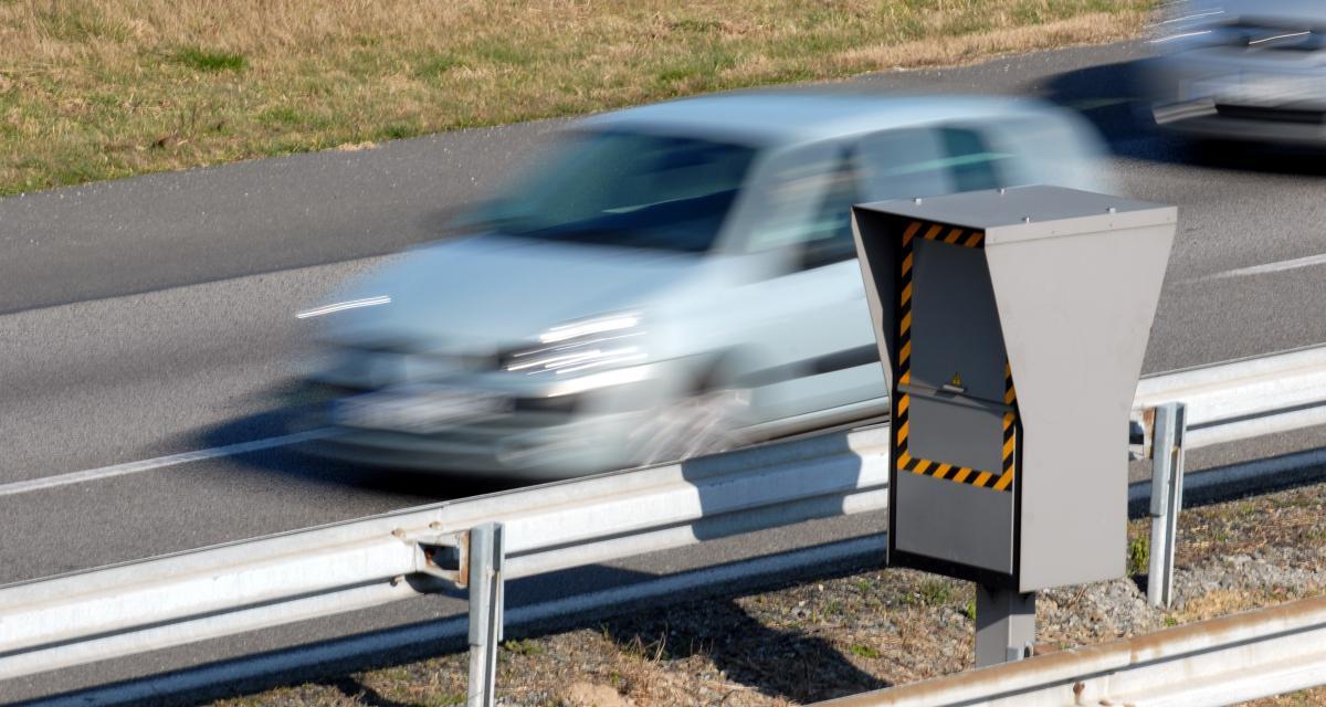 Un automobiliste flashé à 192 km/h sur une route limitée à 90 km/h
