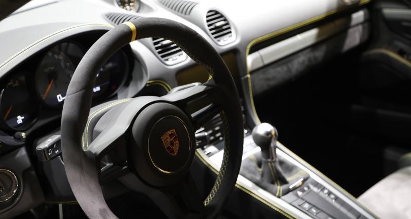 Baby Porsche de piste