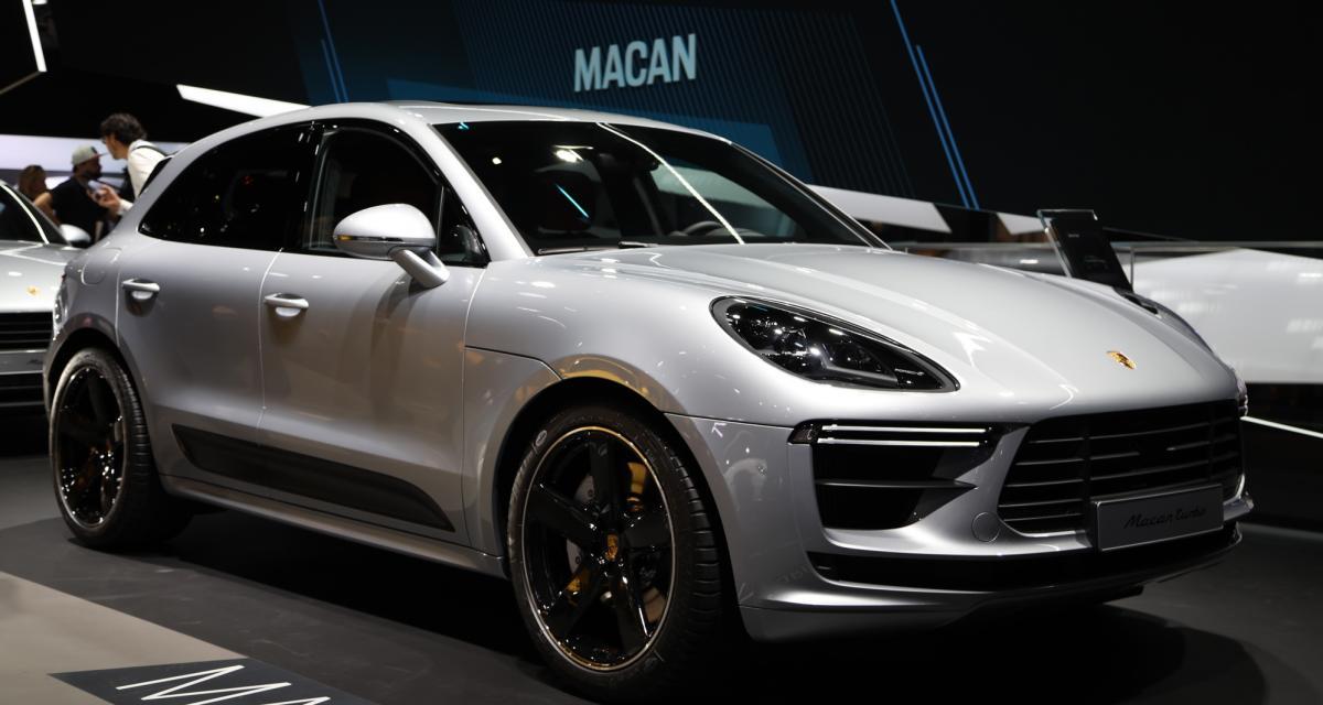 Porsche Macan Turbo : nos photos du SUV de 440 chevaux au Salon de Francfort
