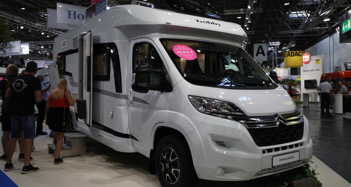 Camping-car Hobby On Tour Edition V 65 GQ : le profilé compact pour voyages au long cours