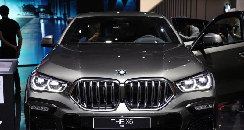 Nouveau BMW X6 : nos photos du SUV Coupé au Salon de Francfort