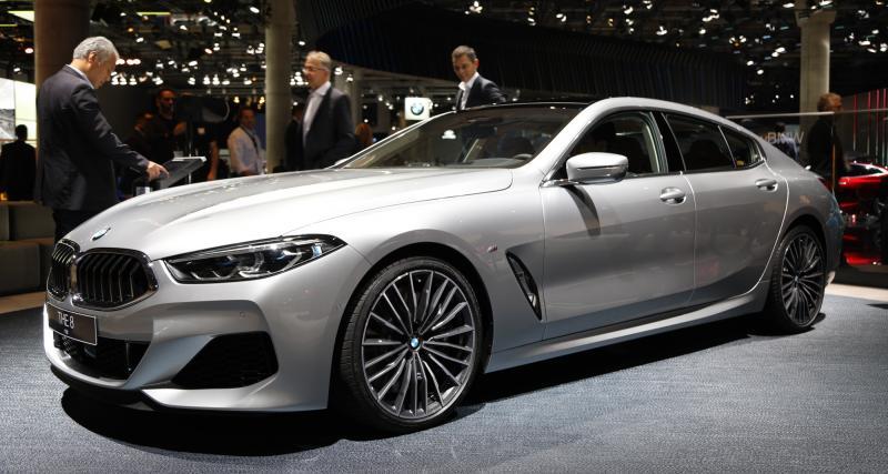BMW Série 8 Gran Coupé : nos photos du coupé 4 portes au salon de Francfort