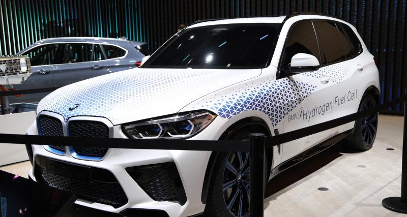 BMW i Hydrogen NEXT : nos photos du X5 hydrogène au Salon de Francfort