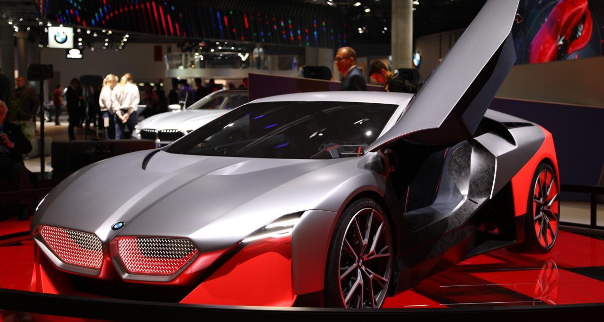 BMW Vision M Next : nos photos du concept au salon de Francfort 2019