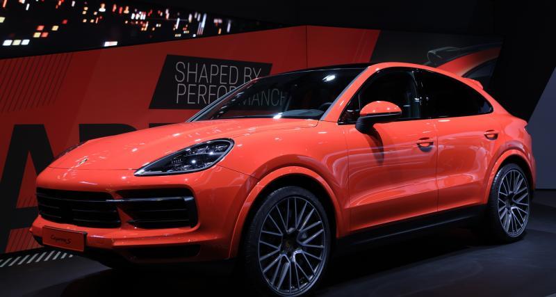 Porsche Cayenne S Coupé : nos photos du SUV Coupé au Salon de Francfort
