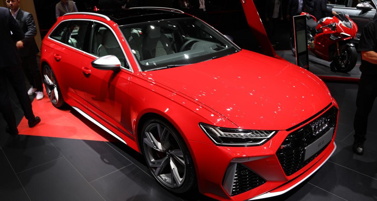 Audi RS6 Avant : toutes nos photos au Salon de Francfort 2019