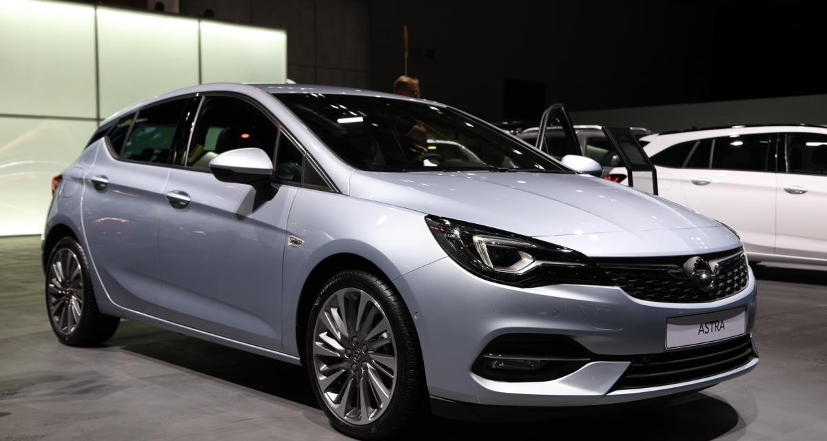 Opel Astra restylée : nos photos au salon de Francfort