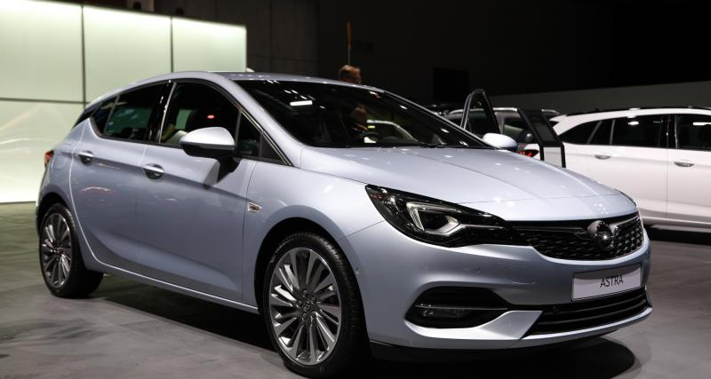 Opel Astra restylée : nos photos au salon de Francfort