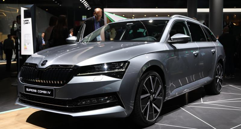 Skoda Superb iV : nos photos de la berline tchèque au Salon de Francfort