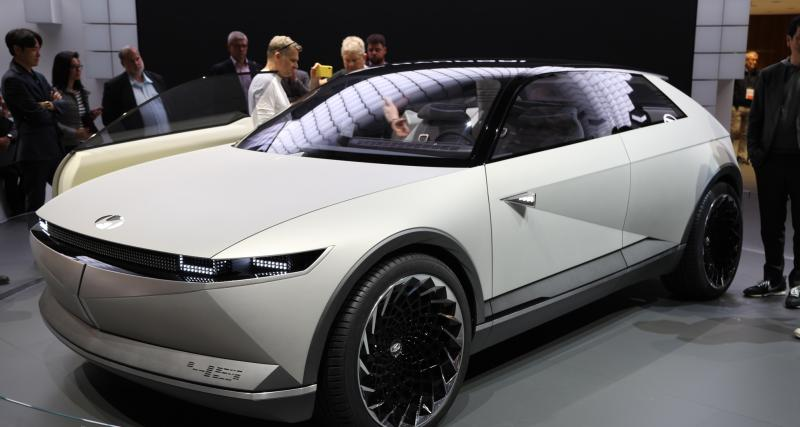Hyundai 45 EV Concept : nos photos du concept au salon de Francfort 2019