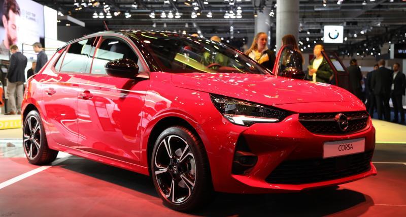 Opel Corsa 6 : nos photos de la nouvelle citadine au salon de Francfort