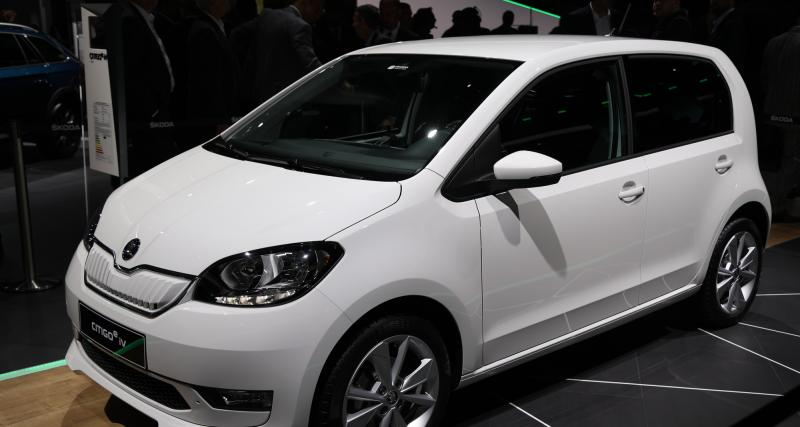 Skoda Citigo e iV : nos photos de la citadine électrique au Salon de Francfort